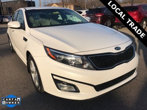 Pre-Owned 2015 Kia Optima LX FWD 4D Sedan