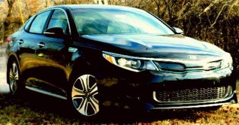 New 2017 Kia Optima Plug-In Hybrid EX FWD 4D Sedan